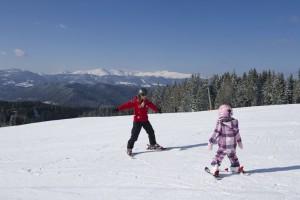 Skikurse für Groß und Klein in der Region Mittelkärnten
