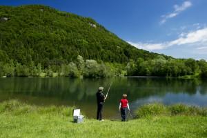 am Linsendorfer See Drau bei Linsendorf Kärnten