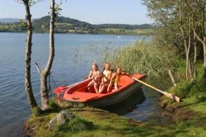 Ruderspaß im Familienhotel Fasching am Längsee
