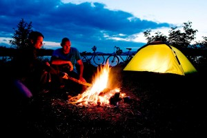 Würstl grillen und Lagerfeuer am Längsee