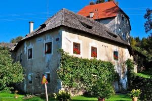 Schloss Drasendorf in der Region Mittelkärnten